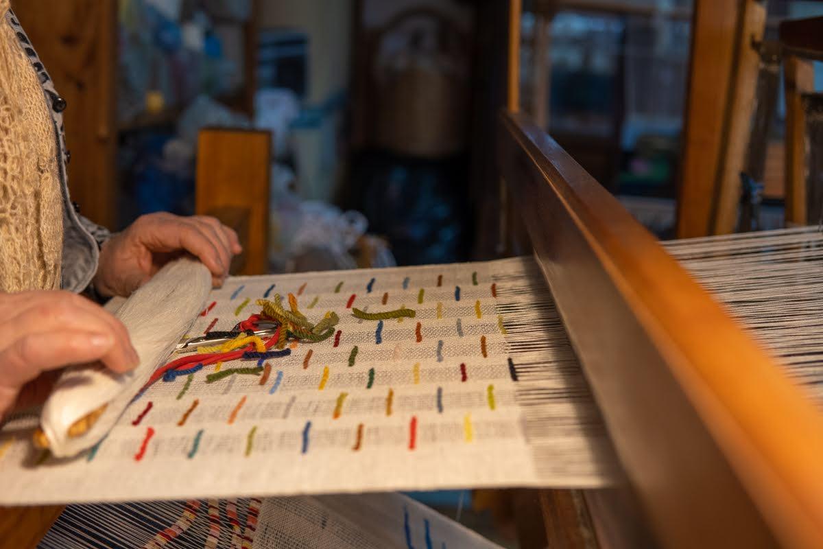 quinta dos trevos tecelagem oficina tecelagem em tear